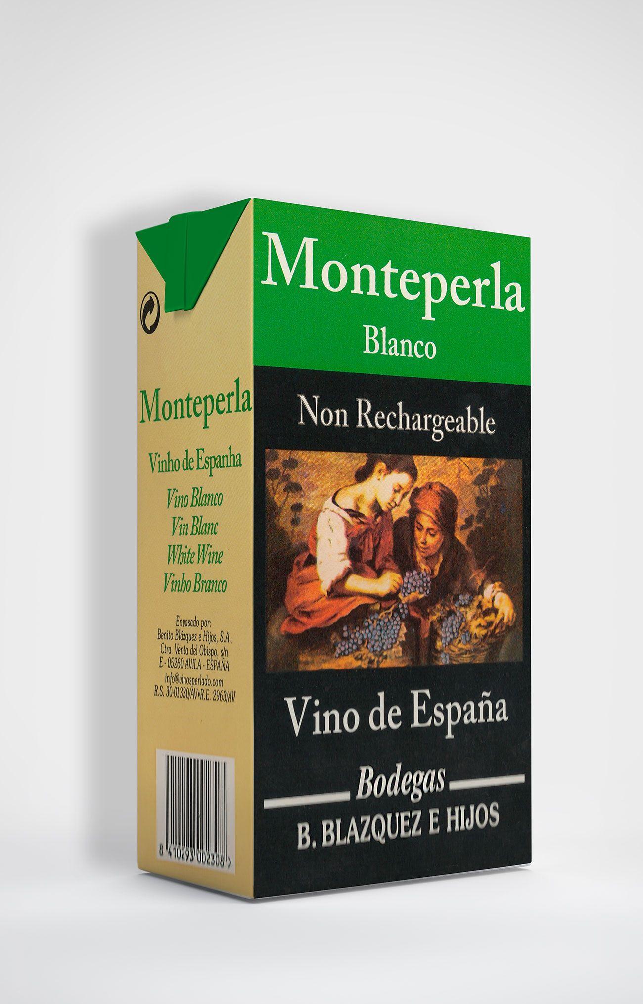 Benito Blázquez - Brik de Vino Monteperla Blanco
