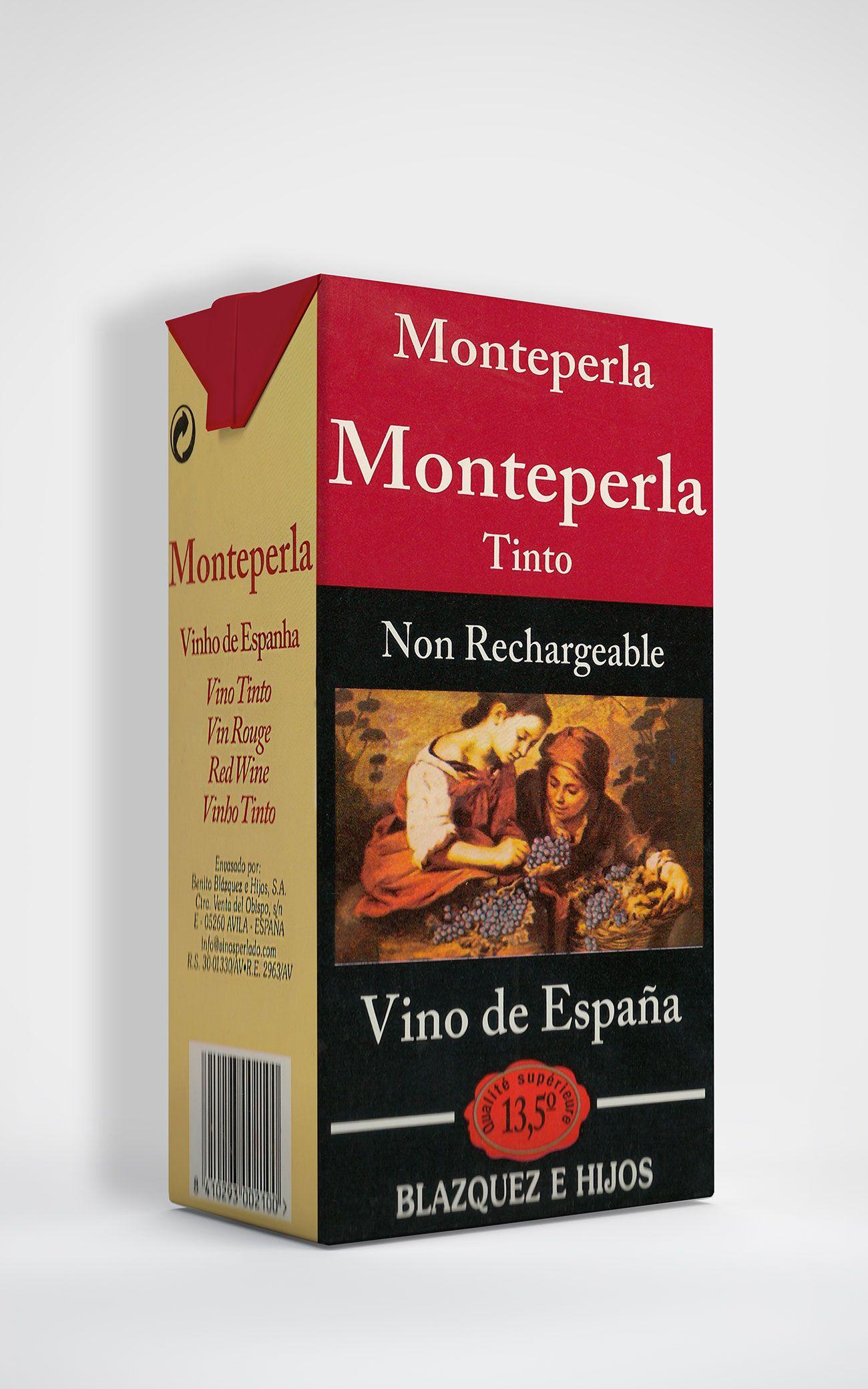 Benito Blázquez - Brik de Vino Monteperla Tinto