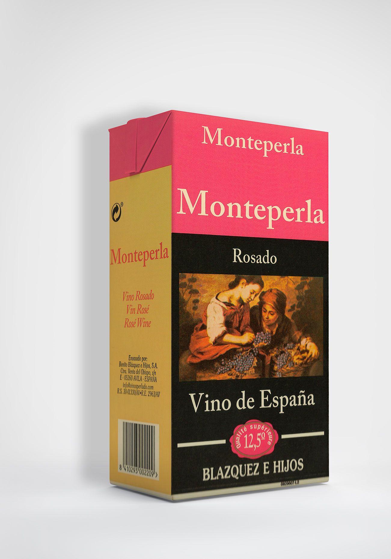 Benito Blázquez - Brik de Vino Monteperla Rosado