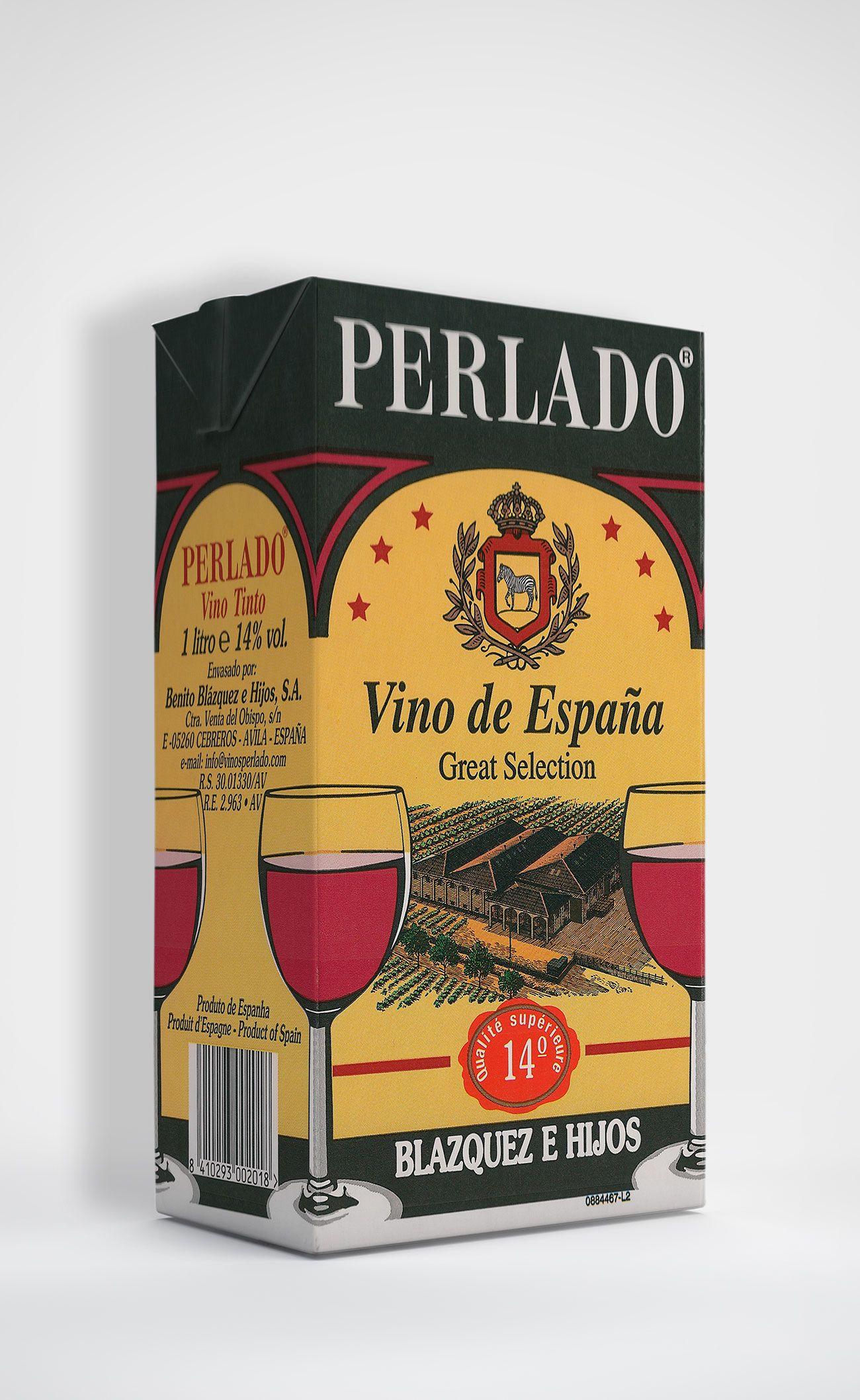 Benito Blázquez - Brik de Vino Perlado Tinto