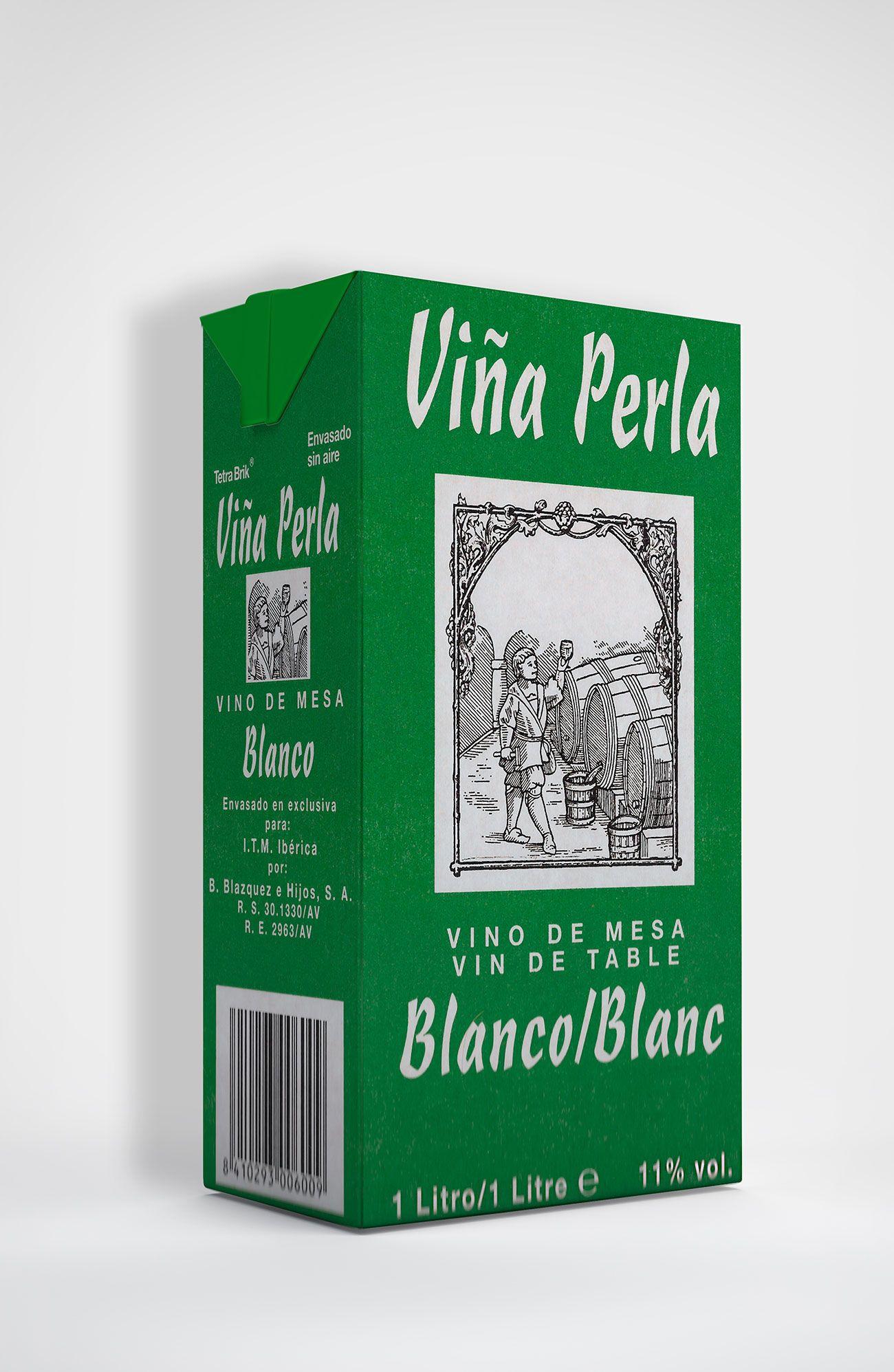 Benito Blázquez - Brik de Vino Blanco Viña Perla
