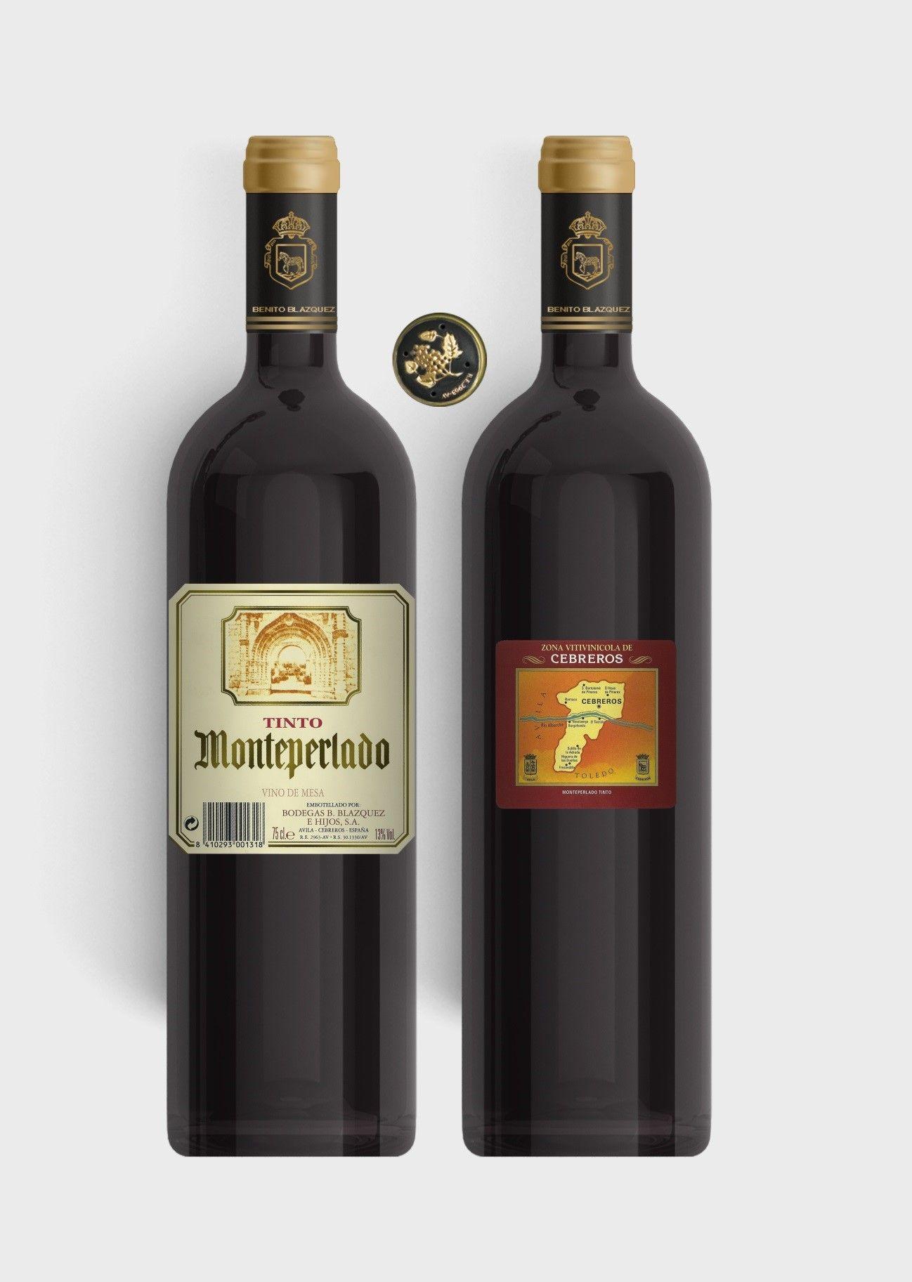 Benito Blázquez - Botella de Vino Tinto Monteperlado