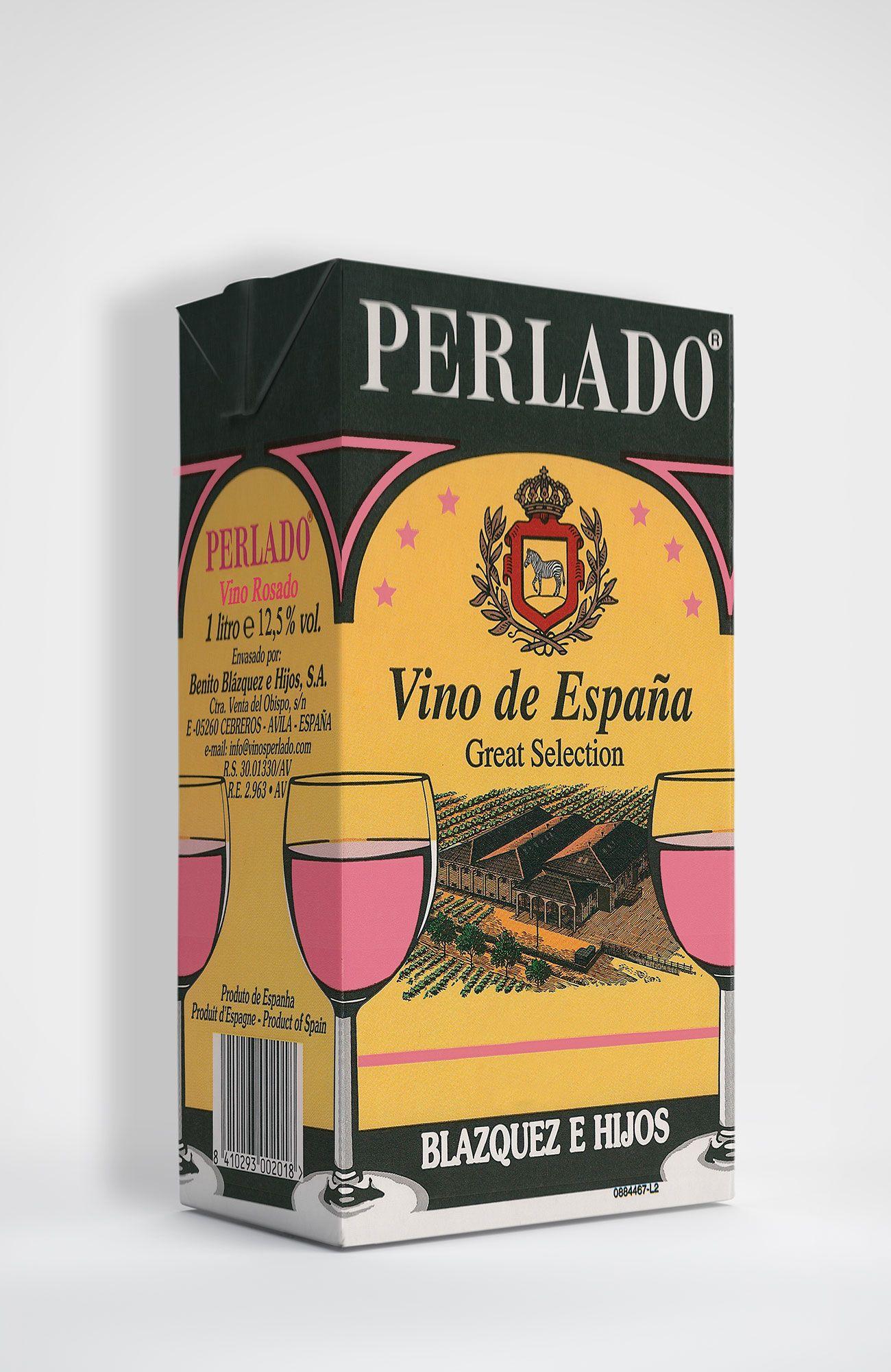 Benito Blázquez - Brik de Vino Perlado Rosado