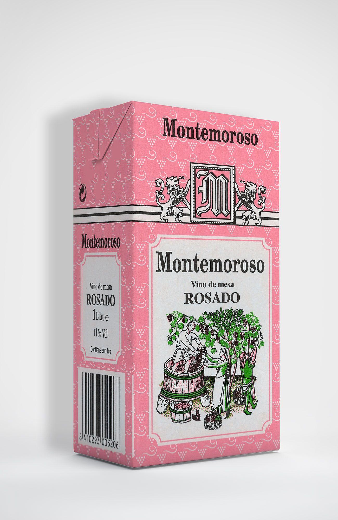 Benito Blázquez - Brik de Vino Montemoroso Rosado