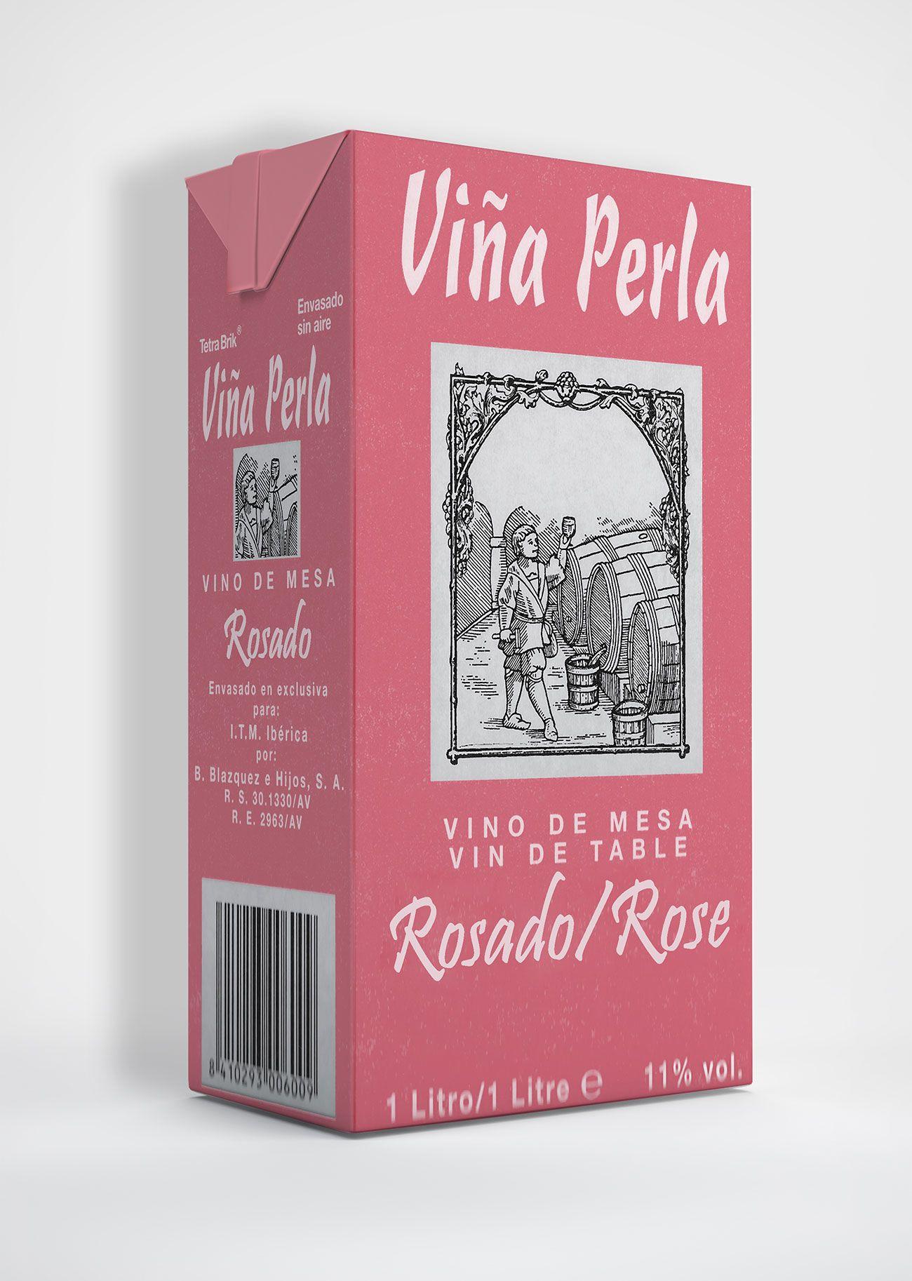 Benito Blázquez - Brik de Vino Rosado Viña Perla