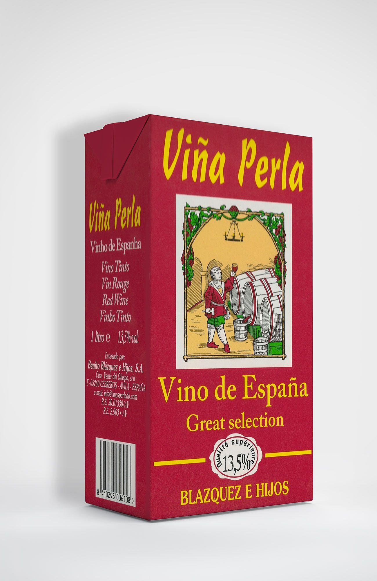 Benito Blázquez - Brik de Vino Tinto Viña Perla